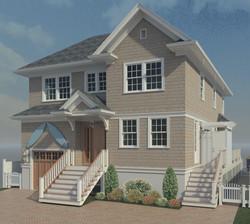 3d Design Custom Home Exterior