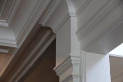 Crown molding details