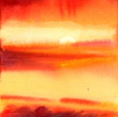 8b. Red Sun