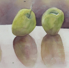 42. Row ofGreen Apples