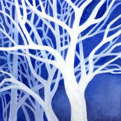 Blue Winter Melody