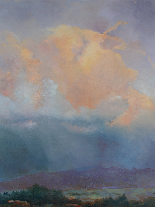 PeachCloud Over Timp Print