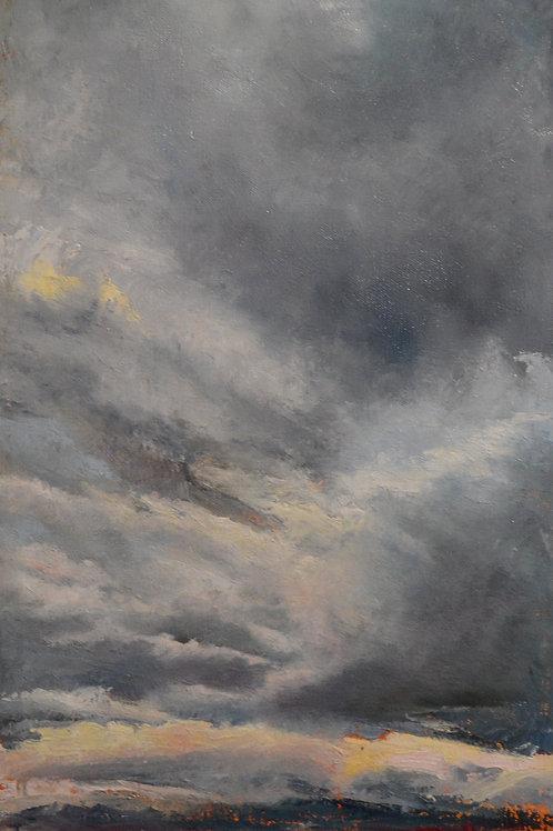 Storm Over Saltlake Valley
