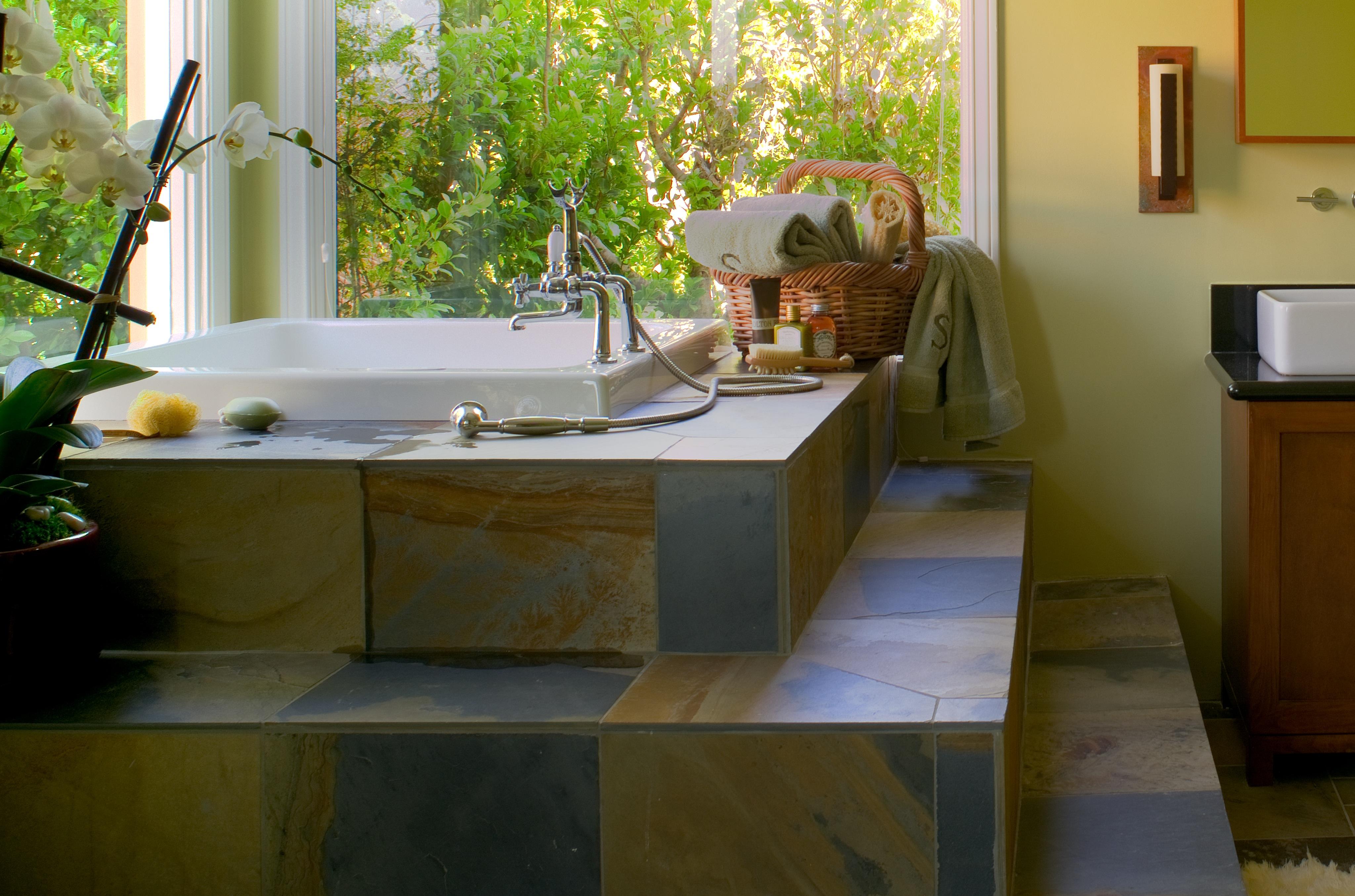 Mission Style Bathroom