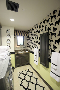 Whimsical Laundry Room