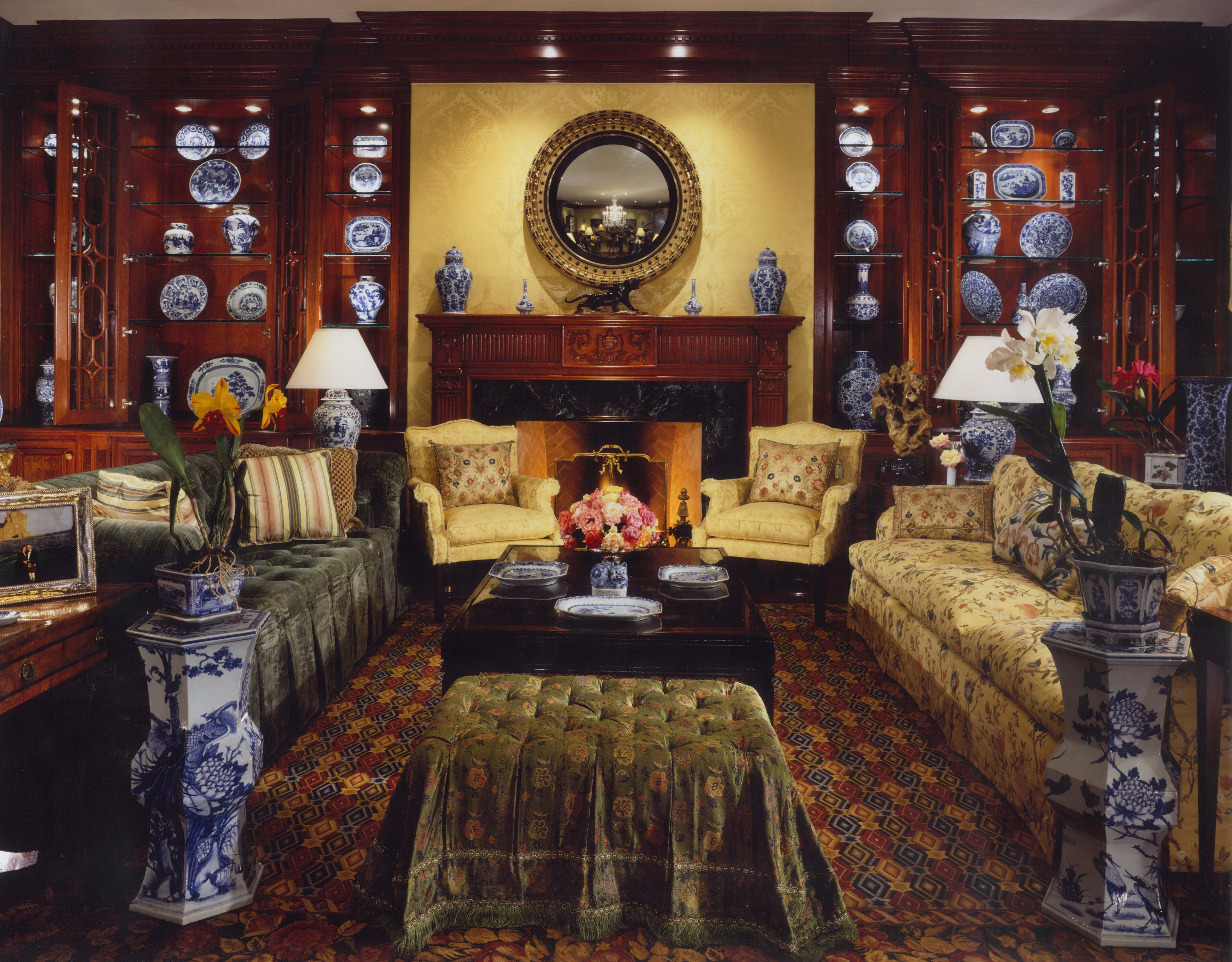 Colonial Living Room