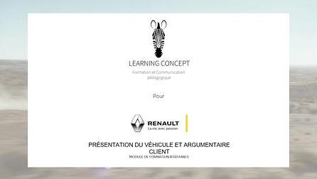 Module e-learning sur mesure à destination des concessionnaires.