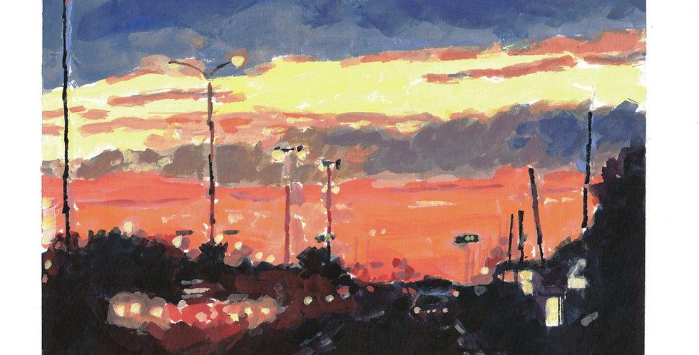 St Hubert Sunset