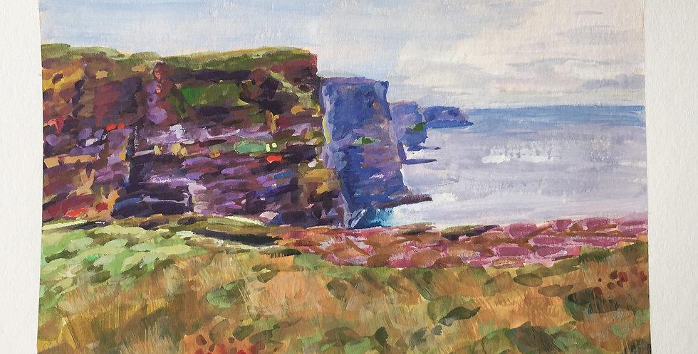 Cliffs of Ireland (SOLD)