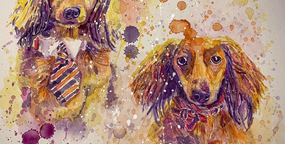 Weiner Dogs - Aspen and London