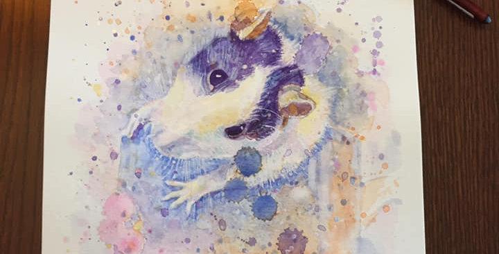 Rat - Portrait of Panda