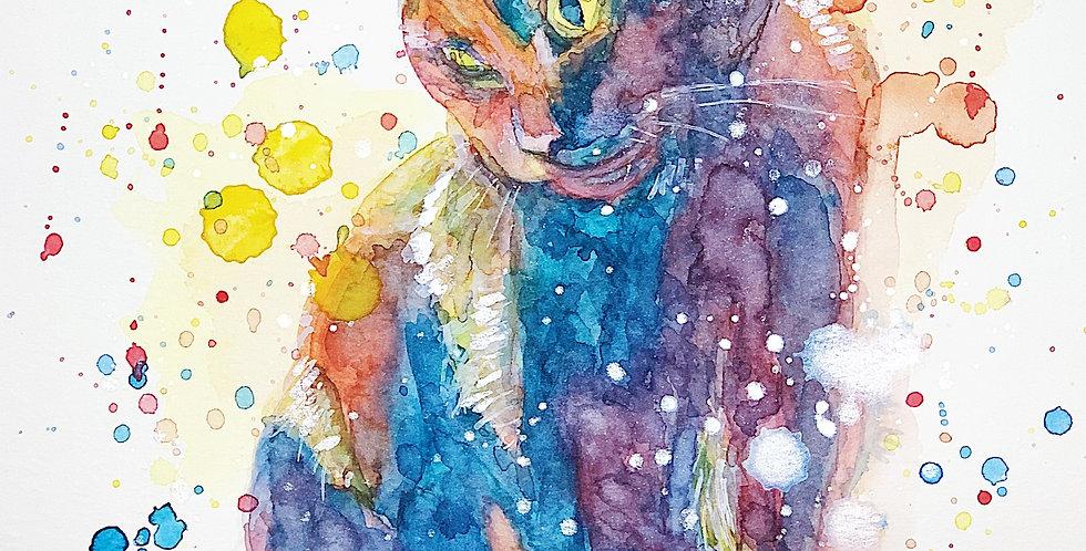 Cat - Portrait of Elysium
