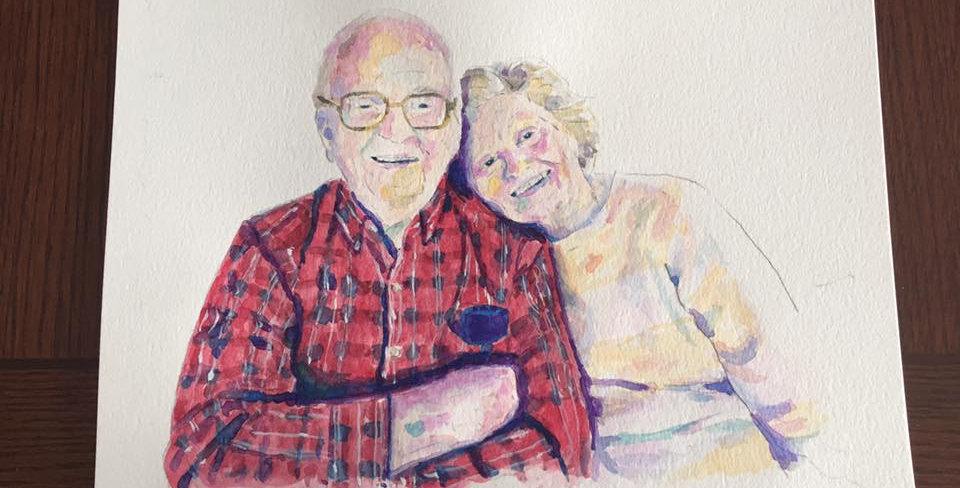 Portrait of Dale's Parents