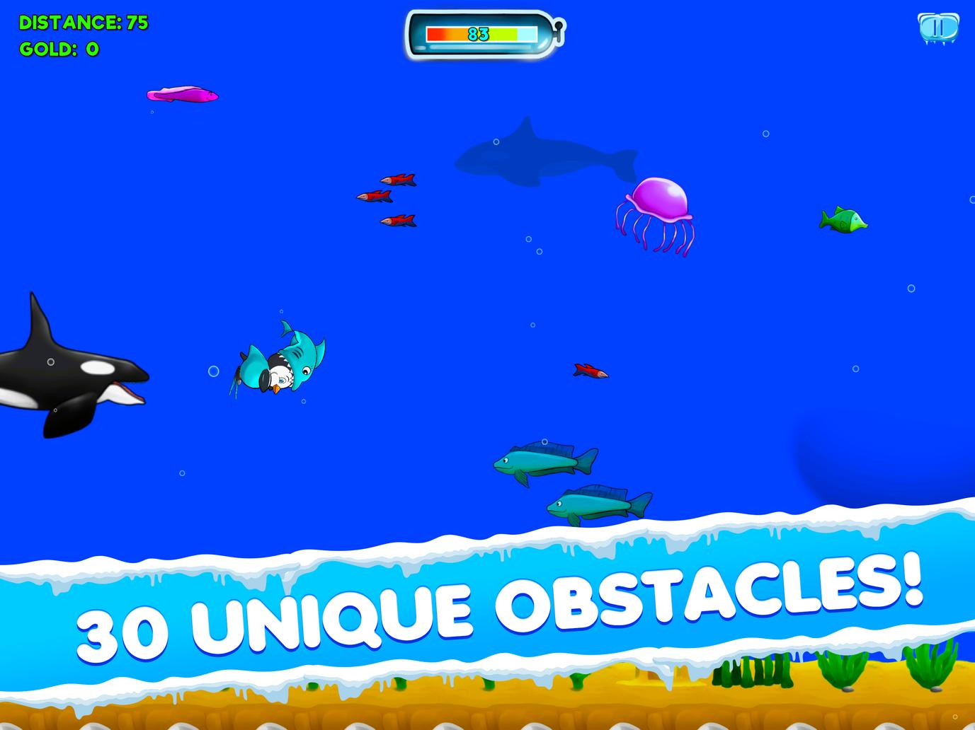 30 Unique Obstacles!