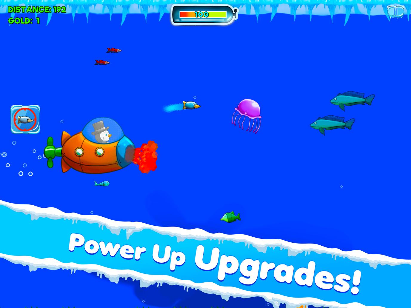 Power up upgrades!