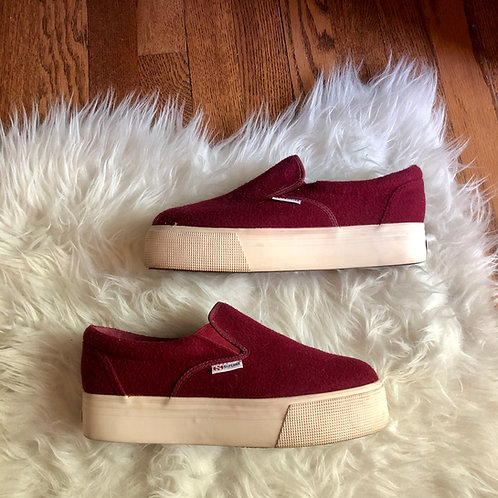 SUPERGA Shoes - Size 8