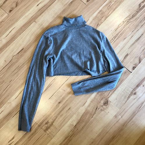 Grey Turtleneck - size S
