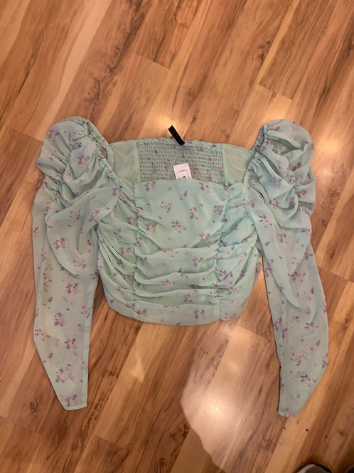 W H&M Divided Top- Sz L