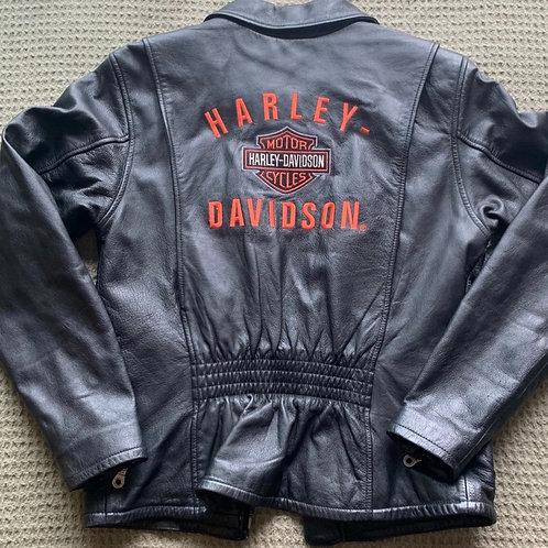 Harley-Davidson Leather Jacket- Sz XS