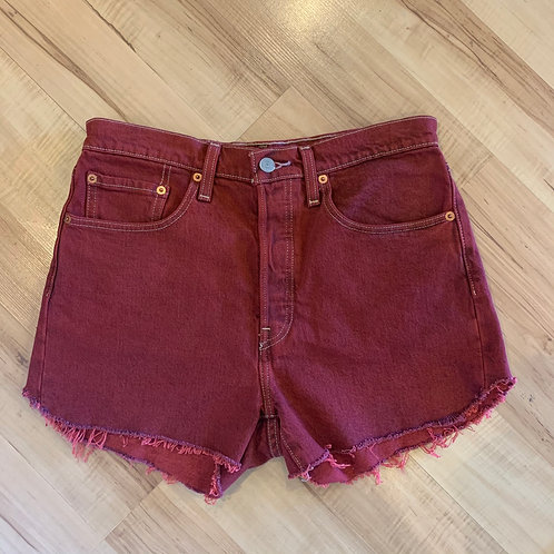 Levi Denim Shorts- Sz 6/8