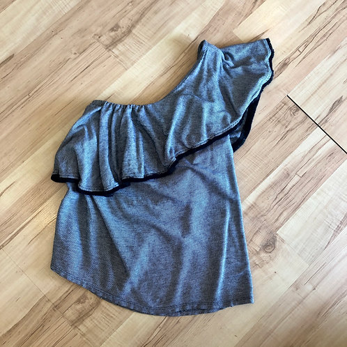 Loft One Shoulder Tee - size S
