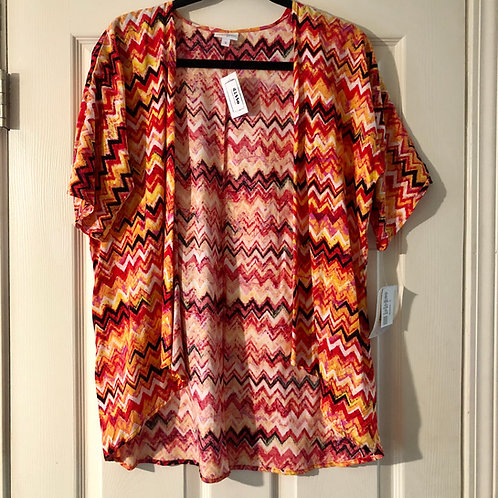 Lularoe Kimono - Size 3/S-M