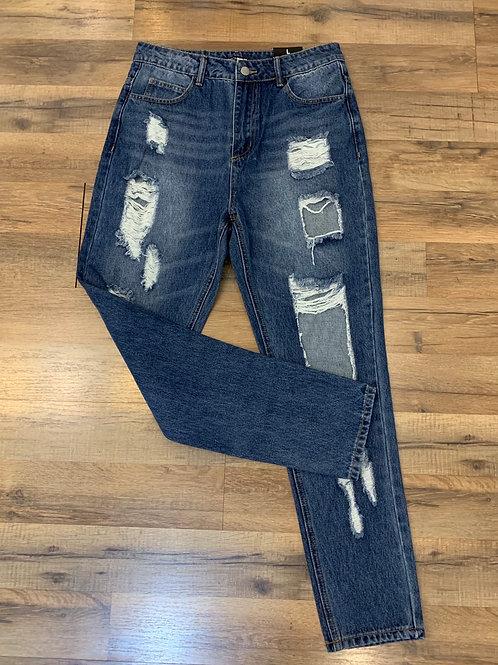 Fashion Nova Jeans Sz- L