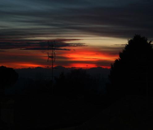 tramonto a Cagliano 3