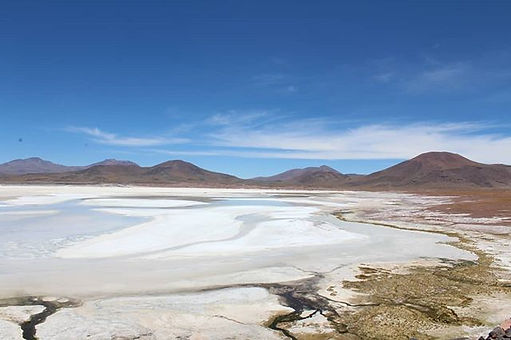 High and lonely lakes 🚣_._._Altiplano i