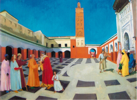 Sidi Bel Abbès Giving Alms to the Blind