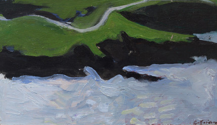 White Tide, Green Cliffs