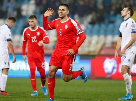 Vòng loại Cúp C1 châu Âu Serbia (sân nhà) vs Scotland