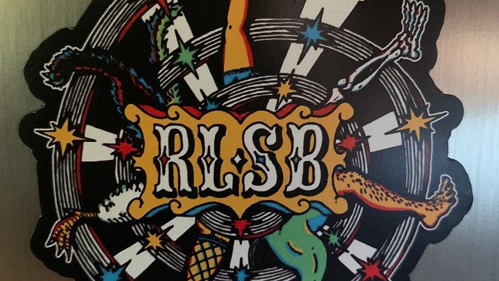 "RLSB Magnet - NEW - 2"" - ""Seasonal Progression"""