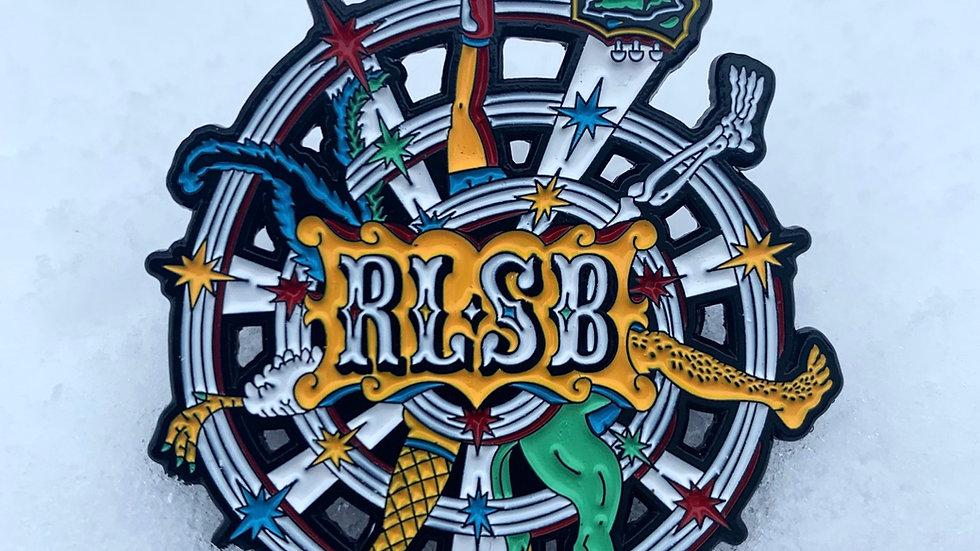 "RLSB 1.5"" Hat Pin - ""Seasonal Progression"""