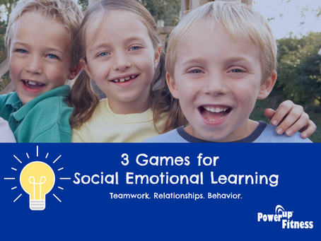 Fun games for Social Emotional Learning!