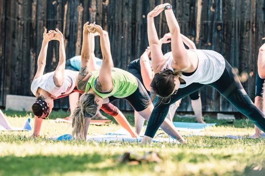 Yoga mit Yogaberge in Obgrün Yoga Brunch (C) www.merlinoutdoorphotography.com
