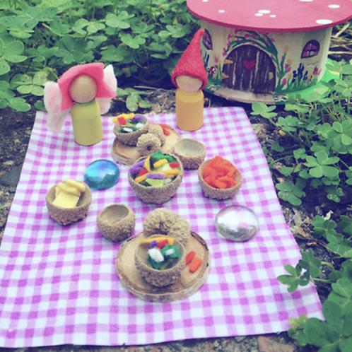 Fairy & Gnome Travel Picnic
