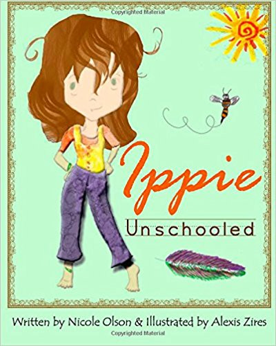 """Book cover for """"Ippie Unschooled"""""""
