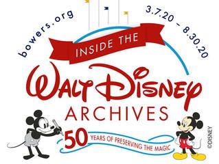 *Cancelled* Inside the Walt Disney Archives Tour