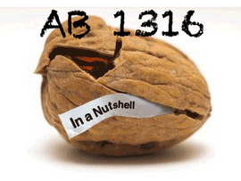 What is AB 1316?