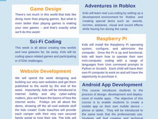 Code Gauchos: Coding Camps & Classes - Lake Forest, CA
