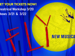 **CANCELED** Fly - A New Musical at the La Jolla Playhouse and Theatrical Workshop hosted by JCS