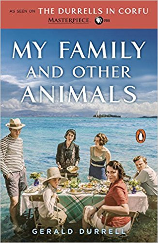 """Book cover for """"My Family and Other Animals"""""""