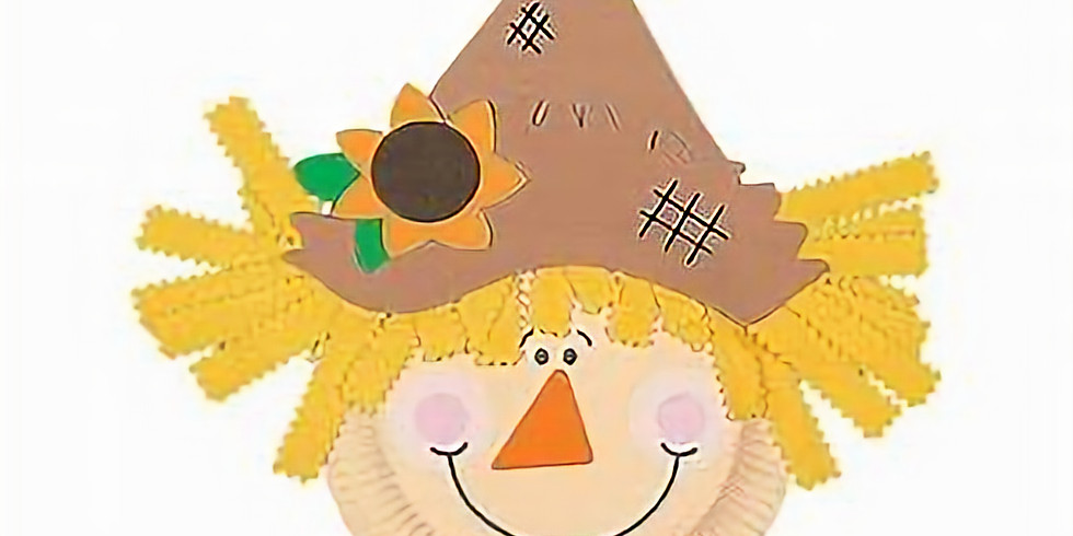 Kids Craft Day- Scarecrow