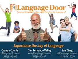 Language Door Classes - Online & Various Locations, CA