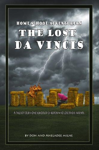 """Book cover for """"The Lost Da Vincis"""""""
