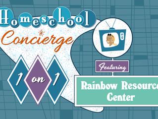Homeschool 1-on-1: Rainbow Resource - Live Webinar - 7/8/2021, 11:00 AM - 12:00 PM PST