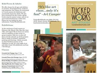 Tucker Works Art Studio Classes - Redlands, CA & Online
