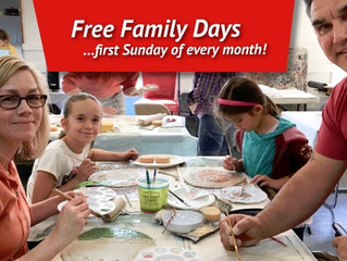 FREE Family Days at Marin MOCA - Novato, CA