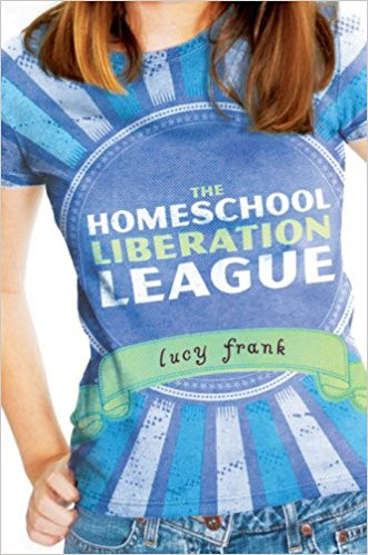 """Book cover for """"The Homeschool Liberation League"""""""